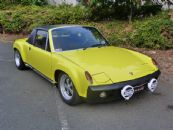 PORSCHE 914/6 arched LE MANS INSPIRED
