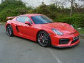 PORSCHE CAYMAN GT4 MANUAL *LOW MILES*